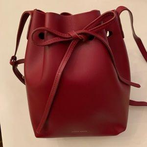 Mansur Gavriel Mini Bucket Bag - Rococo